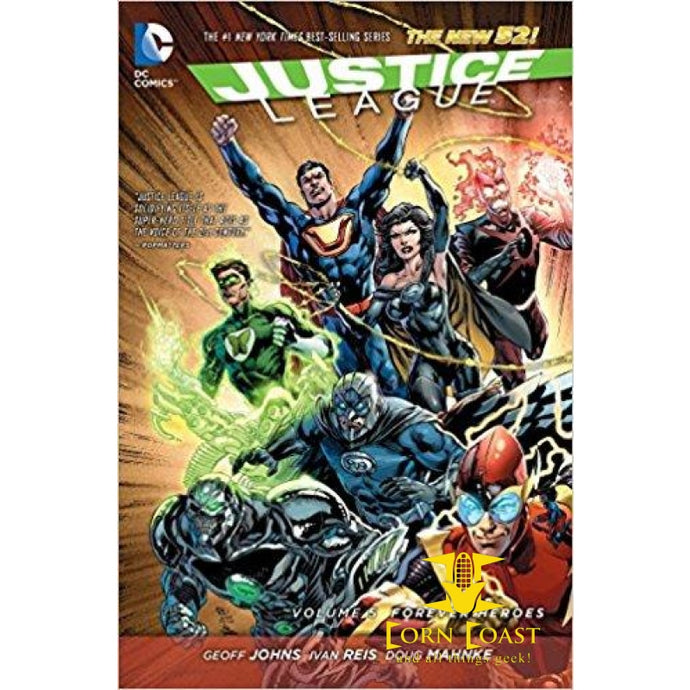 Justice League Vol.5 Forever Heroes TPB - Corn Coast Comics
