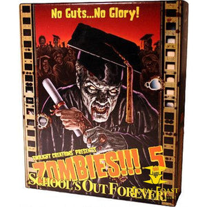Zombies 5 Schools Out Forever - TWILIGHT CREATIONS, INC. - Corn Coast Comics