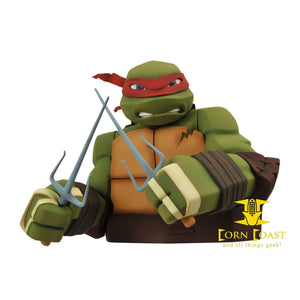 Teenage Mutant Ninja Turtles: Raphael Bust Bank TMNT - Corn Coast Comics