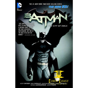 Batman Vol. 2: The City of Owls (The New 52) HC - Corn Coast Comics
