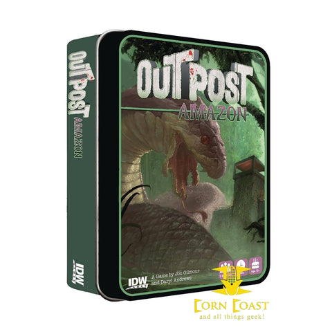 IDW Games Outpost: Amazon Survival Horror Game - Corn Coast Comics