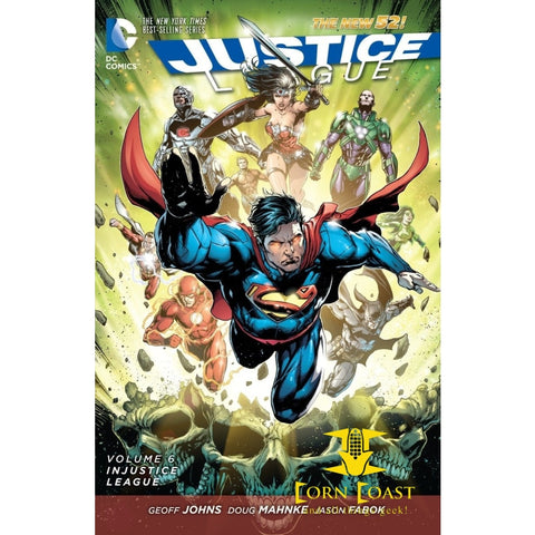 Justice League Vol. 6: Injustice League (The New 52) tpb - Corn Coast Comics