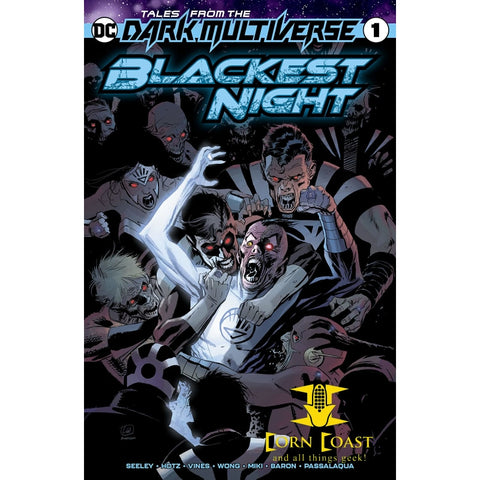 Tales from the Dark Multiverse: Blackest Night (2019) #1 - Corn Coast Comics