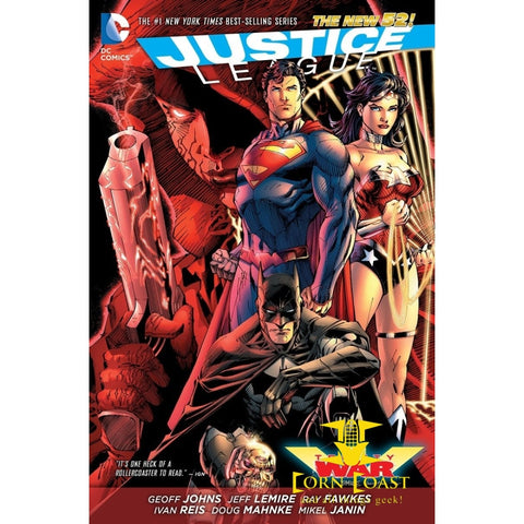 Justice League: Trinity War (The New 52) Hardcover HC - Corn Coast Comics
