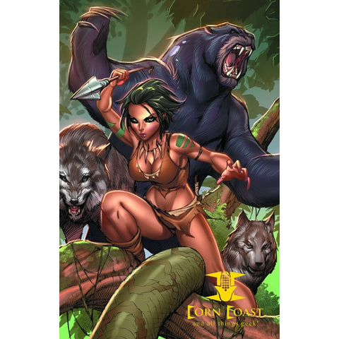 Grimm Fairy Tales Presents: The Jungle Book Paperback - Corn Coast Comics