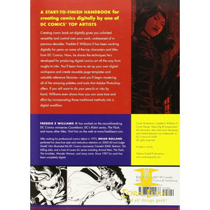 The DC Comics Guide to Digitally Drawing Comics Paperback - Corn Coast Comics