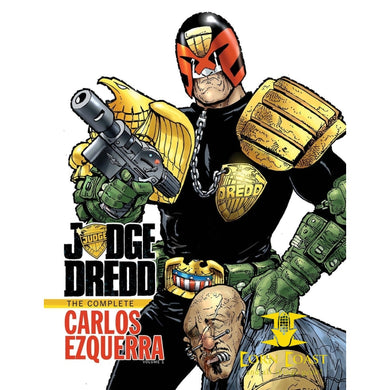 Judge Dredd: The Complete Carlos Ezquerra Volume 1 HC