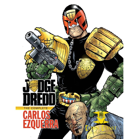 Judge Dredd: The Complete Carlos Ezquerra Volume 1 HC - Corn Coast Comics