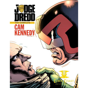 Judge Dredd the complete Cam Kennedy vol 1 HC
