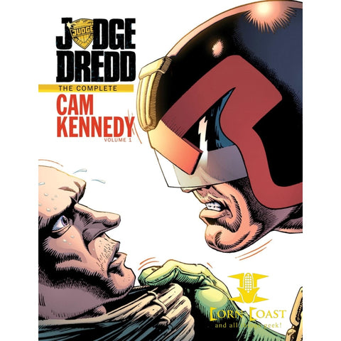 Judge Dredd the complete Cam Kennedy vol 1 HC - Corn Coast Comics