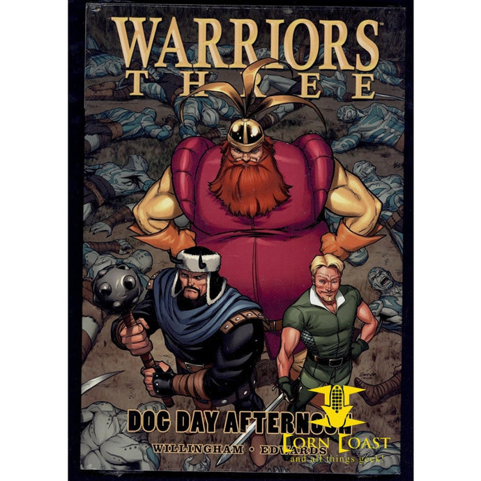 Warriors Three Dog Day Afternoon Sealed Hardcover HC Graphic Novel Marvel Comics - Corn Coast Comics