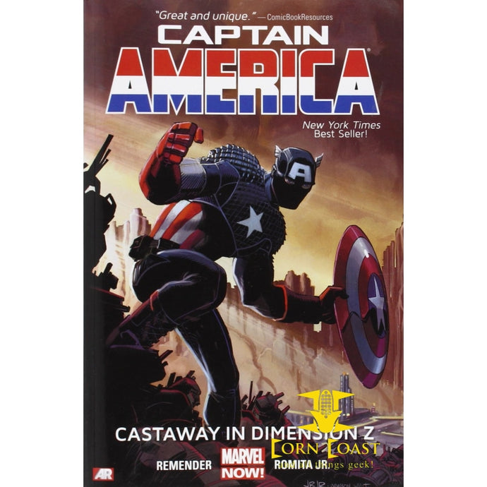 Captain America Volume 1: Castaway in Dimension Z Book 1 (Marvel Now) HC - Corn Coast Comics