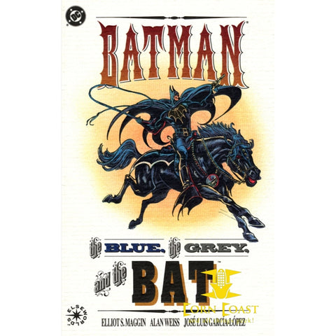 BATMAN: THE BLUE, THE GREY, & THE BAT - Corn Coast Comics