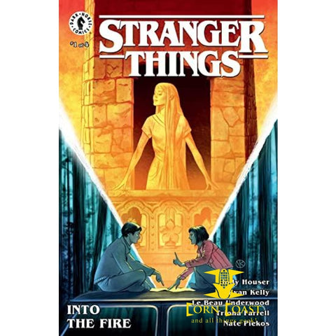 Stranger Things: Into the fire #1 - Corn Coast Comics