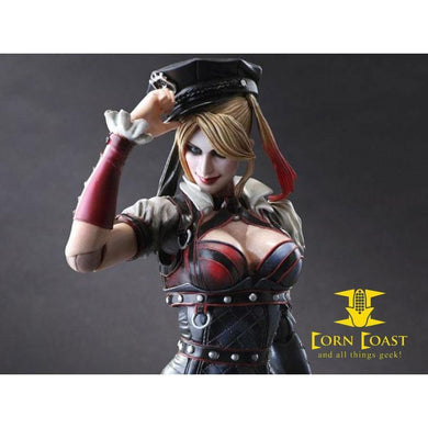BATMAN ARKHAM KNIGHT PLAY ARTS KAI HARLEY QUINN - Corn Coast Comics