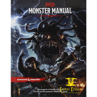 Dungeons & Dragons - Monster Manual (D&D Core Rulebook) 5th Edition Next - Corn Coast Comics