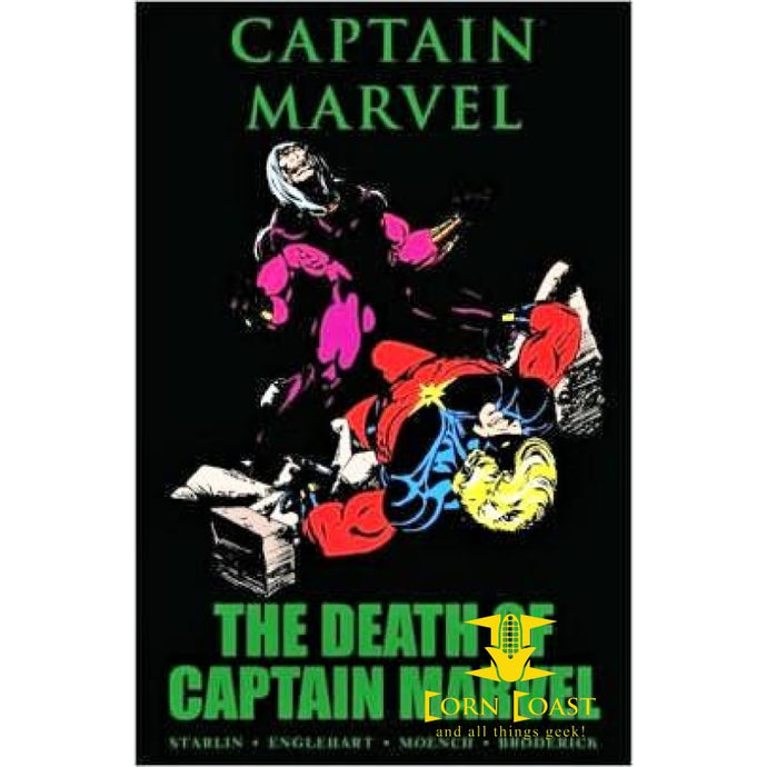 Captain Marvel: The Death of Captain Marvel HC - Corn Coast Comics