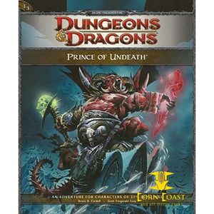 Prince of Undeath: Adventure E3 for 4th Edition Dungeons & Dragons - Corn Coast Comics