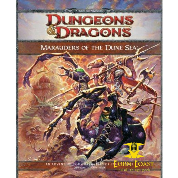 Marauders of the Dune Sea: A 4th Edition D&d Adventure (