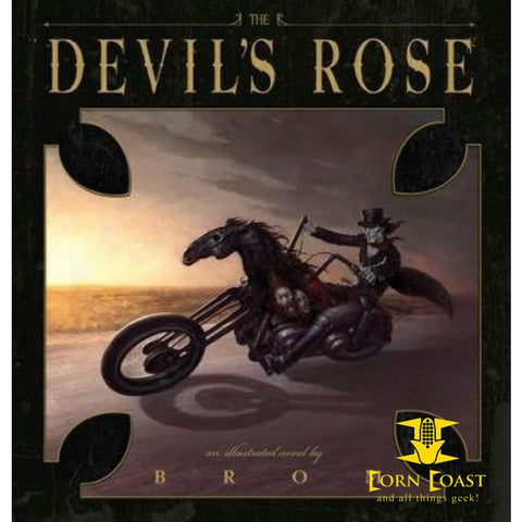 Devil Rose Hardcover - Corn Coast Comics