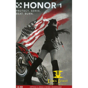 Honor Vol 1 Double Take Night Of The Living Dead Universe Graphic Novel TPB Fire Protect. Serve. Beat. Burn - Corn Coast Comics