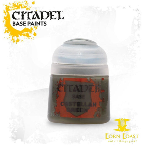 Citadel Paint Castellan Green - Corn Coast Comics