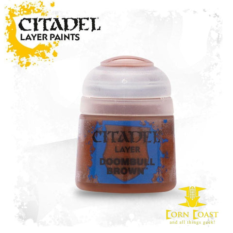 Citadel Paint Doombull Brown - Corn Coast Comics