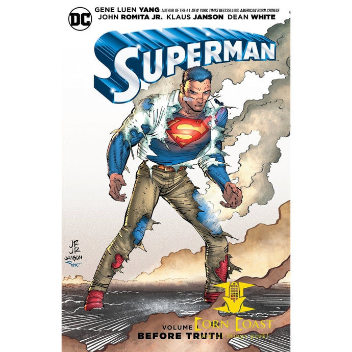Superman Vol. 1: Before Truth HC hardcover - Corn Coast Comics