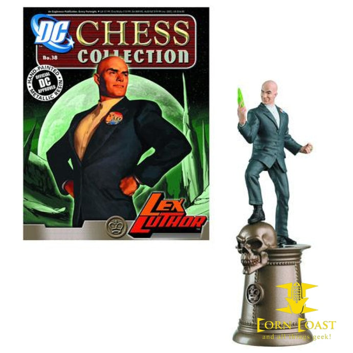 Eaglemoss DC Chess Collection Lex Luther - Corn Coast Comics