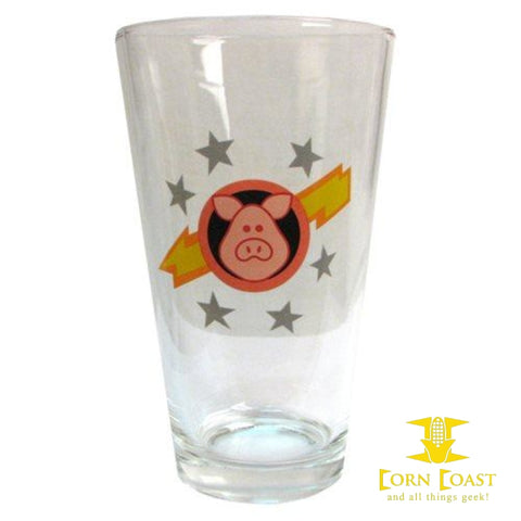 Muppet Show Pigs in Space Pint Glass - Corn Coast Comics