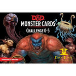 Dungeons & Dragons Monster Cards Challenge 0-5 - Corn Coast Comics