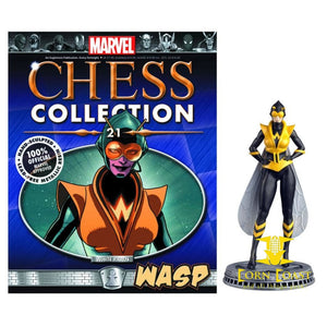 Eaglemoss Marvel Chess Collection WASP - Corn Coast Comics