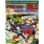 Marvel Treasury Edition (1974) #25 Spider-Man Vs. Hulk at the Winter Olympics NM - Corn Coast Comics