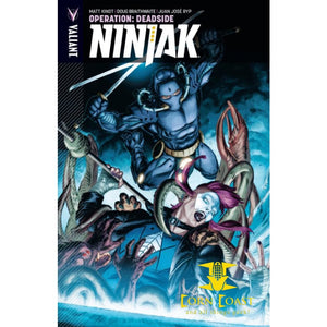 NINJAK VOL. 3: OPERATION DEADSIDE TPB - Corn Coast Comics