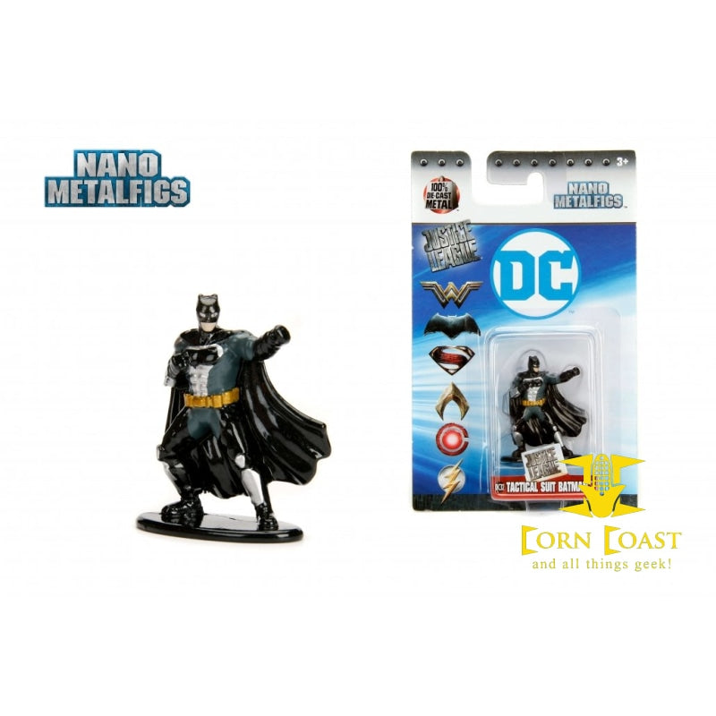 Nano Metalfigs DC Tactical suit Batman DC32 Jada DieCast Metal Figure  Figurine