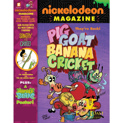 NICKELODEON MAGAZINE #10 - Corn Coast Comics