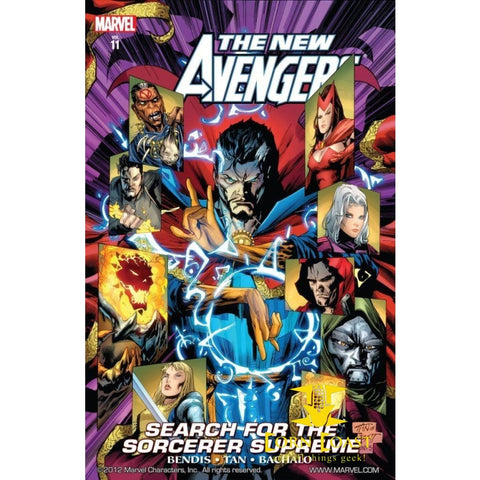 New Avengers Vol. 11: Search for the Sorcerer Supreme - Corn Coast Comics