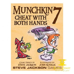 Steve Jackson Games Munchkin 7: Cheat With Both Hands - Corn Coast Comics
