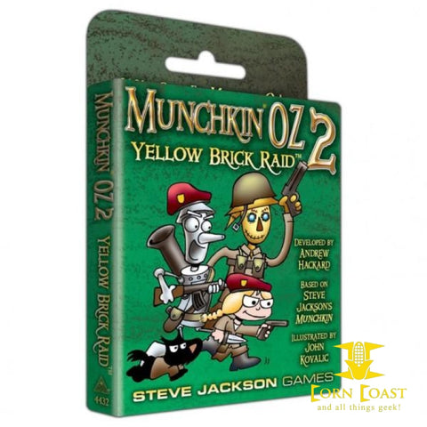 Steve Jackson Games Munchkin Oz 2: Yellow Brick Raid Expansion - Corn Coast Comics