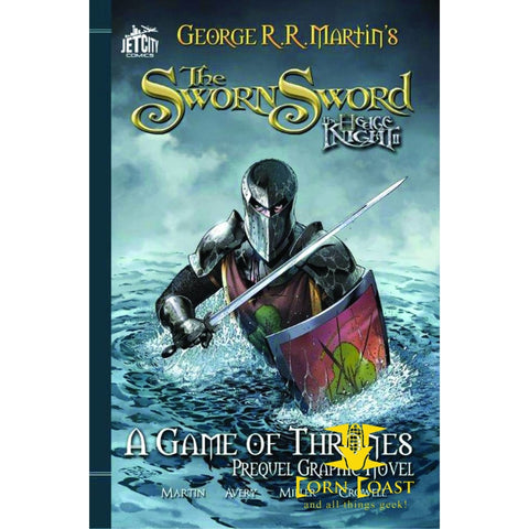 HEDGE KNIGHT JET CITY ED TP VOL 02 SWORN SWORD - Corn Coast Comics