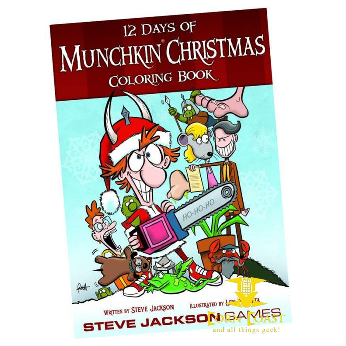 MUNCHKIN 12 DAYS OF CHRISTMAS COLORING BOOK - Corn Coast Comics