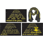 Star Wars EPISODE 6 OPENING CREDIT CRAWL PX SCARF - Corn Coast Comics