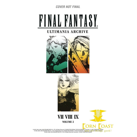 FINAL FANTASY ULTIMANIA ARCHIVE HC VOL 02 - Corn Coast Comics