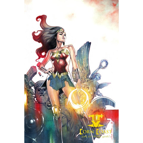 WONDER WOMAN #757 CARD STOCK OLIVIER COIPEL VAR ED