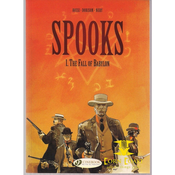 Spooks Volume 1: The Fall of Babylon soft cover graphic novel TPB - Corn Coast Comics