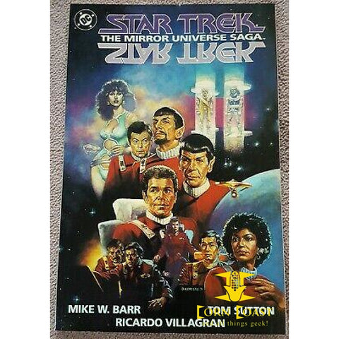 Star Trek The Mirror Universe Saga TP - Corn Coast Comics