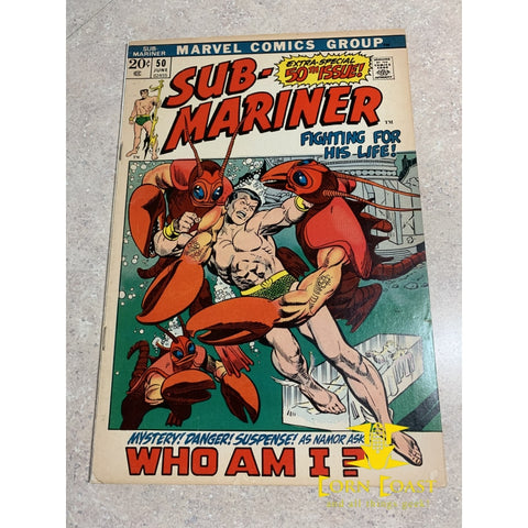 Sub-Mariner (1968 1st Series) #50 VF