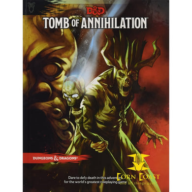 Dungeons & Dragons: Tomb Of Annihilation 5th