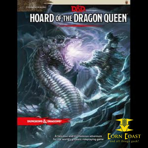 Dungeons & Dragons: Adventure Horde Of The Dragon Queen 5th - Corn Coast Comics