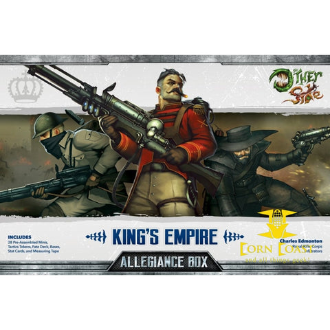 KING'S EMPIRE ALLEGIANCE BOX Wyrd games - Corn Coast Comics